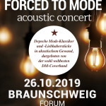"FORCED TO MODE ""ACOUSTIC TOUR 2019″"