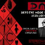 DEPECHE MODE PARTY Gast DJ Marcus Meyn (Camouflage)